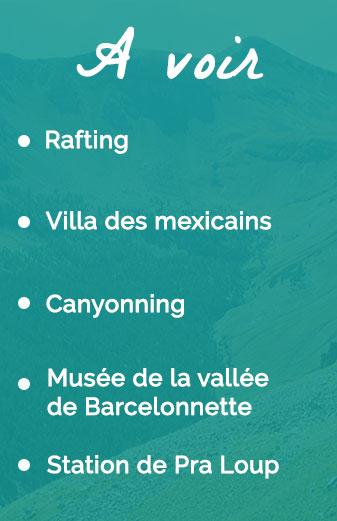 A voir à Barcelonnette