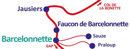 Plan de Barcelonnette