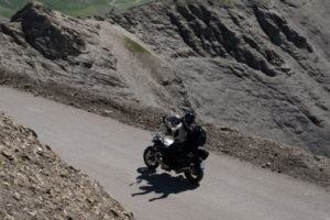 Moto à la Bonette