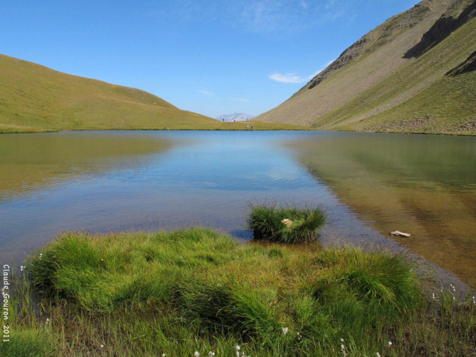 Lac des terres pleines Jausiers