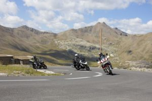 Moto Paysage Bonette