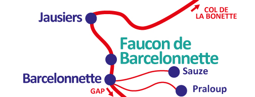 Plan de Faucon de Barcelonnette
